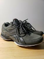 Reebok EASYTONE Women's Size 9 Casual Walking Shoes Charcoal GUC