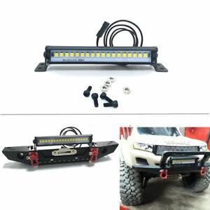 Universal RC Car Roof LED Light Bar for 1/10 Traxxas TRX-4 TRX6 Axial Scx10 ll