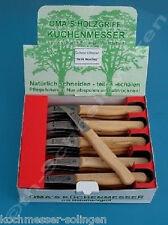 Schälmesser Holzgriffmesser Gußstahlmesser Solingen Neu