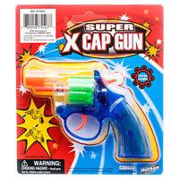 8 Ring Shot Cap Gun Color Police Pistol Revolver Colorful New Toy Replica New