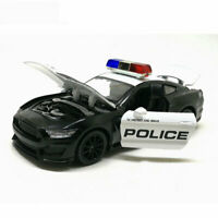 1:32 Ford Mustang Shelby GT350 Police  Vehicle Car Model Diecast Gift Toy Sound