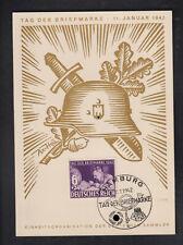 DR Schmuckkarte Tag der Briefmarke 1942