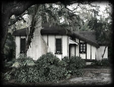 Fairy tale cottage, small house plans, Tudor-Gothic style, 2 beds, PRINTED PLANS