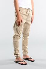 Rusty Dumpster Men Slouchy Rise Skinny Leg Hook Out Beach Pant Fennel Size W38