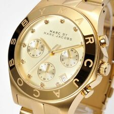 NEW MBM3101 Marc by Marc Jacobs Ladies Blade  Chronograph Watch
