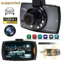 Dash Cam Camcorder 1080P Full HD Night Vision Car DVR Dashboard Camera Recorder