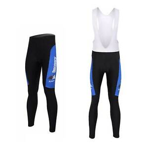 Discovery Channel Men's Cycling Trousers Pants Padded Cycle Bib Tights S-5XL