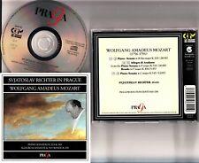 SVIATOSLAV RICHTER In Prague Live MOZART Piano Sonatas K 333/545 Allegro etc CD