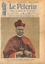 Portrait Cardinal Louis-Ernest Dubois Archevêque de Paris 1920 ILLUSTRATION