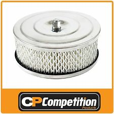"CHROME AIR CLEANER SU HS6 1.75"" 16-2 PERFORMANCE UPGRADE"