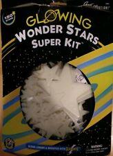 150 GLOWING STARS - Wonder Stars Super Kit - For Ceiling & Walls - Ships FREE !