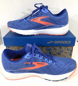 Brooks Ravenna 11 Women's Size 9W Blue/Coral Athletic Running Shoes X7-1505