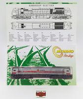 """MEHANO N 53260 - DIESEL-LOK BOMBARDIER BLUE TIGER """"MKB"""" - NUEVA - OVP - TOP!"""
