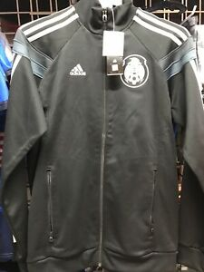 Adidas Mexico Anthem Track Top 2014 Black Grey Size S Men's Only