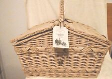 Cartwright & Butler Luxury Wicker Picnic Basket/Hamper from Harrods