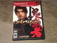 Onimusha Warlords PlayStation 2 PS2 Complete CIB Authentic