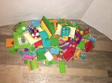 Lot Of Moshi Monsters Mega Blocks