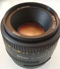 Nikon Nikkor Lens AF 50mm F1.8D DSLR - EXCELLENT CONDITION!