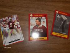 Florida State all sports,Bowden,Winston,Ponder,Tate,27 cards