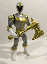 Power Rangers Super Megaforce LIGHTSPEED RESCUE TITANIUM RANGER Action Hero 5""