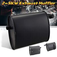 2-3KW Universal Exhaust Muffler Silencer Iron For Gasoline Generator New