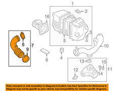 MAZDA OEM 01-04 Tribute Air Cleaner-to Intake Hose Duct Tube YF091303XC