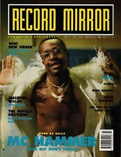 MC Hammer on Magazine Cover 7 July 1990   Cameo   Marc Almond   Neville Brothers