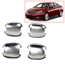 FIT FOR BUICK VERANO 12~14 CHROME DOOR HANDLE CAVITY BOWL CUP TRIM INSERT COVER