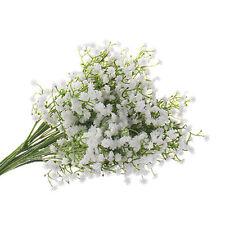 1PC Artifical Gypsophila Floral Silk Fake Flower Bouquet Wedding Party Decor UK