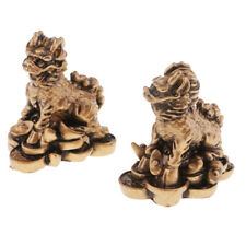 Feng Shui Chi Lin Wealth Lucky Statue Home furnishing articles Crafts