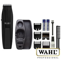 GROOMEASE BY WAHL BEARD & STUBBLE TRIMMER W/ 5 COMBS BATTERY POWERED - 5537-6217