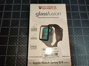 Zagg InvisibleShield Glass Screen Protector Apple Watch Series 4 & 5 44mm A4