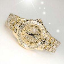 Women Fashion Simulate Diamond Watch Ladies Fashion Jewelry Quartz Wristwatch