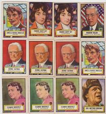 SET BREAK NICE 1952 Topps LOOK N SEE PICK ONE/ MULTIPLE CARDS COMPLETE YOUR SET