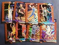2018-19 Panini Prizm Basketball Red Ruby Wave Refractor 1-300 (A-Z) You Pick