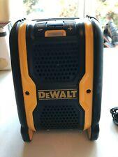 DEWALT DCR006 12V/ 20v Cordless Bluetooth Speaker (works with charger or battery