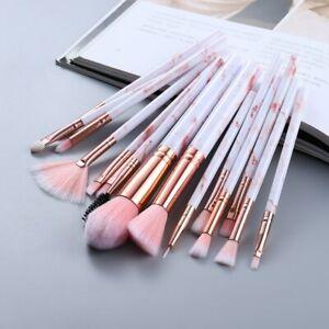 15Pcs Makeup Brushes Tool Set Cosmetic Powder Eye Shadow Foundation Blending
