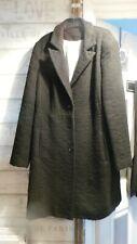 Ladies black long M&S size 14 winter coat