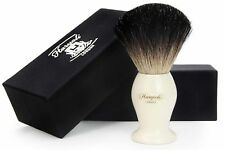 Black Badger Hair Shaving Brush With the Ivory Color Base.