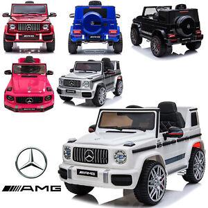 Kids New Licensed Mercedes Benz G63 AMG 12V Battery Electric Ride on Car