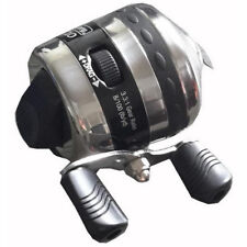 Fishing Spincast Reel W/Strings Fish Line Wheel Metal Compound Bow Access