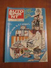 AUTOSPRINT 51/1976 - Flammini / Donington / Rally Ciocco / Bandama