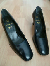 """PATENT NAVY COURT SHOES BY BRUNI MAGLI - 2.5"""" HEEL - UK 5.5 EU 38.5"""