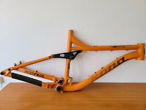(as is) KONA Process Race Light 6069 Aluminum Butted Bicycle Frame (damaged)