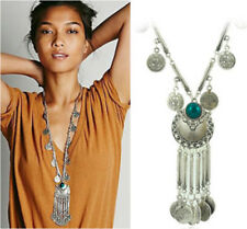 Fashion Charm Pendant Chain Crystal Jewelry Choker Chunky Statement Bib Necklace Ns71 Blue