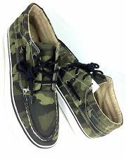 Aeropostale Mens Mit-Top Camo Boat Shoes Size 10  Za/50