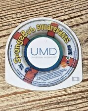 The Spongebob Squarepants Movie (UMD, 2005) PSP. Free Shipping.