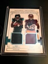 2017 Panini National Treasures Rookie NFL Gear Combo Westbrook & Perine #d 66/99