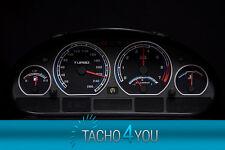 BMW Tachoscheibe Tacho E46 Benzin oder Diesel M3 Schwarz 3102 Tachoscheiben
