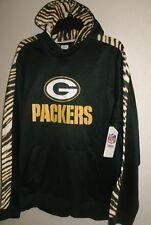 NWT Green Bay Packers Zubaz Hoodie ~ Sz XL ~ Fleece Lined  Official NFL  Apparel